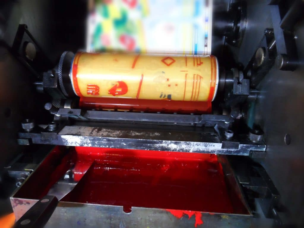 tapes for plexographic printing